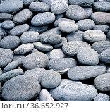 Steine, steiniges Flussbett, Kieselsteine, Landschaft. Стоковое фото, фотограф Zoonar.com/Manfred Ruckszio / age Fotostock / Фотобанк Лори