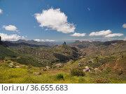 Roque Bentaiga, Gran Canaria, kanaren, kanarische inseln,insel, berg... Стоковое фото, фотограф Zoonar.com/Volker Rauch / easy Fotostock / Фотобанк Лори