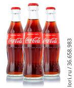Stuttgart, Deutschland - 8. Januar 2021: Coca Cola Coca-Cola Limonade... Стоковое фото, фотограф Zoonar.com/Markus Mainka / age Fotostock / Фотобанк Лори