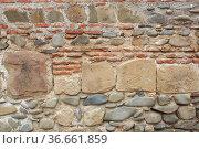 Close up of a wall, Tbilisi, Georgia. Стоковое фото, фотограф Zoonar.com/Alexander Ludwig / easy Fotostock / Фотобанк Лори