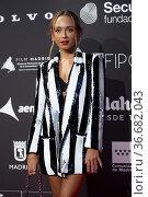 Lucía de la Fuente attends to Latinamerican Premieres In Madrid '... Редакционное фото, фотограф Nacho Lopez / age Fotostock / Фотобанк Лори