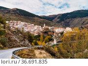 The village Bacares located in Sierra de Los Filabres, in Almeria... Стоковое фото, фотограф Zoonar.com/Rudolf Ernst / easy Fotostock / Фотобанк Лори