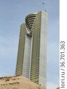 Intempo Building, is a 47-floor, 202-metre-high skyscraper building... Стоковое фото, фотограф Luis Fidel Ayerves / age Fotostock / Фотобанк Лори