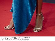 Renata Notni attends to Red Carpet of Platino Awards 2021 photocall... Редакционное фото, фотограф NACHO LOPEZ / age Fotostock / Фотобанк Лори
