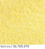 Square food background - uncooked durum wheat semolina close up. Стоковое фото, фотограф Zoonar.com/Valery Voennyy / easy Fotostock / Фотобанк Лори