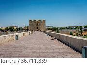 The Calahorra Tower,Torre de la Calahorra a fortified gate in the... Стоковое фото, фотограф Zoonar.com/SkandaRamana Suryanarayana / easy Fotostock / Фотобанк Лори