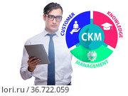 Customer knowledge management marketing concept. Стоковое фото, фотограф Elnur / Фотобанк Лори