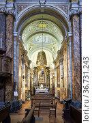 Città della Pieve Umbria Italy. The Cathedral of San Gervasio e ... Стоковое фото, фотограф Marco Brivio / age Fotostock / Фотобанк Лори