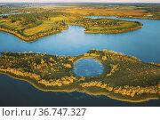 Lyepyel District, Lepel Lake, Beloozerny District, Vitebsk Region... Стоковое фото, фотограф Ryhor Bruyeu / easy Fotostock / Фотобанк Лори