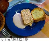 Asturian cuisine, Pate de pescado. Стоковое фото, фотограф Яков Филимонов / Фотобанк Лори