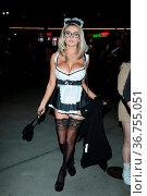 Celebrities seen at Halloween Hotness Hollywood. Редакционное фото, фотограф Guillermo Proano / WENN / age Fotostock / Фотобанк Лори
