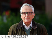 Director Marco Bellocchio poses on the red carpet at the 16th annual... Редакционное фото, фотограф Antonelli / AGF/Maria Laura Antonelli / age Fotostock / Фотобанк Лори