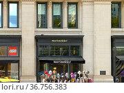 Marimekko, design house celebrated worldwide for its original prints and colors in New York City. Редакционное фото, фотограф Валерия Попова / Фотобанк Лори
