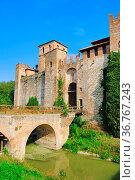 Valbona castillo 02. Стоковое фото, фотограф Zoonar.com/Liane Matrisch / easy Fotostock / Фотобанк Лори