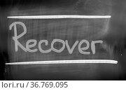 Recover Concept. Стоковое фото, фотограф Zoonar.com/Krasimira Nevenova / easy Fotostock / Фотобанк Лори