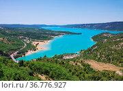 Lac de Sainte-Croix 03. Стоковое фото, фотограф Zoonar.com/LIANEM / easy Fotostock / Фотобанк Лори
