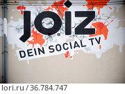 Berlin, Deutschland - Mai 01, 2017: Das bunte Logo an der Fassade... Стоковое фото, фотограф Zoonar.com/Bastian Kienitz / age Fotostock / Фотобанк Лори
