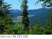 Naturpark Schwarzwald, Landschaft im Sommer, zwischen Erzgrube und... Стоковое фото, фотограф Zoonar.com/Bildagentur Geduldig / easy Fotostock / Фотобанк Лори