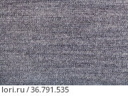 Textile background - woven yarns in gray wool jersey knitted fabric... Стоковое фото, фотограф Zoonar.com/Valery Voennyy / easy Fotostock / Фотобанк Лори