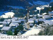 San nicolo' view, ultimo valley, italy. Стоковое фото, фотограф Danilo Donadoni / age Fotostock / Фотобанк Лори