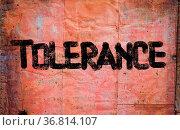 Tolerance Concept. Стоковое фото, фотограф Zoonar.com/Krasimira Nevenova / easy Fotostock / Фотобанк Лори