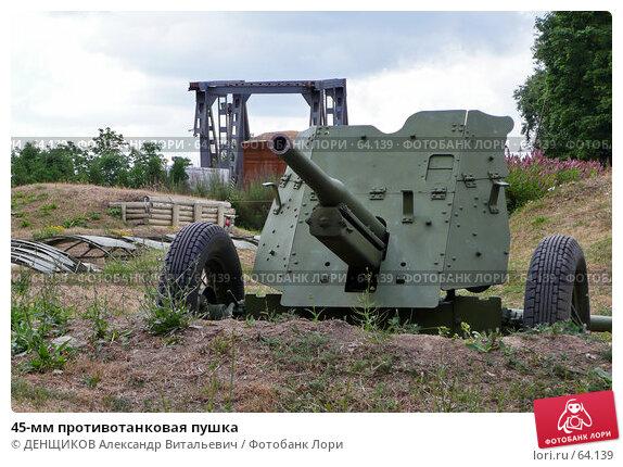 Купить «45-мм противотанковая пушка», фото № 64139, снято 20 июня 2007 г. (c) ДЕНЩИКОВ Александр Витальевич / Фотобанк Лори