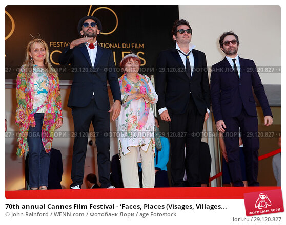 Купить «70th annual Cannes Film Festival - 'Faces, Places (Visages, Villages)' - Premiere Featuring: Director JR, Matthieu Chedid, Agnes Varda Where: Cannes, France...», фото № 29120827, снято 19 мая 2017 г. (c) age Fotostock / Фотобанк Лори