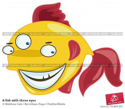 A fish with three eyes. Стоковая иллюстрация, иллюстратор Matthew Cole / PantherMedia / Фотобанк Лори