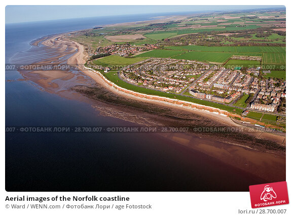 Купить «Aerial images of the Norfolk coastline Featuring: Norfolk coastline Where: Wells Next The Sea, United Kingdom When: 17 Jan 2016 Credit: Ward/WENN.com», фото № 28700007, снято 17 января 2016 г. (c) age Fotostock / Фотобанк Лори