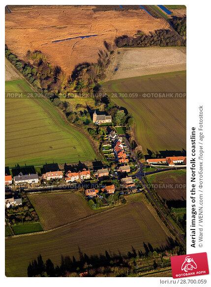 Купить «Aerial images of the Norfolk coastline Featuring: Norfolk coastline Where: Norfolk, United Kingdom When: 27 Aug 2014 Credit: Ward/WENN.com», фото № 28700059, снято 27 августа 2014 г. (c) age Fotostock / Фотобанк Лори