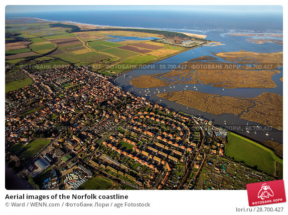 Купить «Aerial images of the Norfolk coastline Featuring: Norfolk coastline Where: Norfolk, United Kingdom When: 27 Aug 2014 Credit: Ward/WENN.com», фото № 28700427, снято 27 августа 2014 г. (c) age Fotostock / Фотобанк Лори