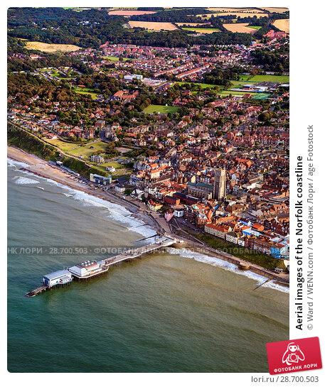 Купить «Aerial images of the Norfolk coastline Featuring: Norfolk coastline Where: Norfolk, United Kingdom When: 27 Aug 2014 Credit: Ward/WENN.com», фото № 28700503, снято 27 августа 2014 г. (c) age Fotostock / Фотобанк Лори