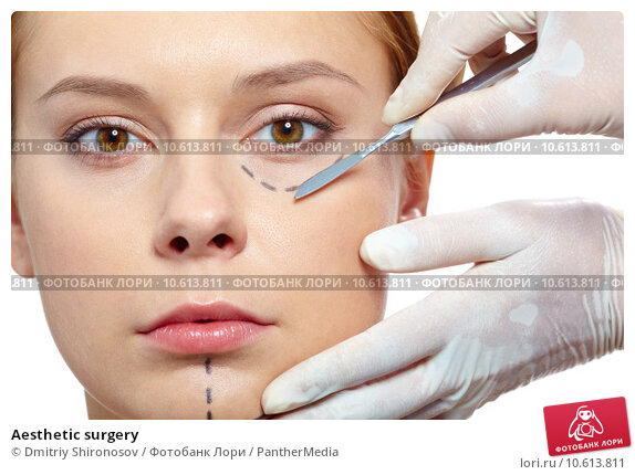 Aesthetic surgery. Стоковое фото, фотограф Dmitriy Shironosov / PantherMedia / Фотобанк Лори