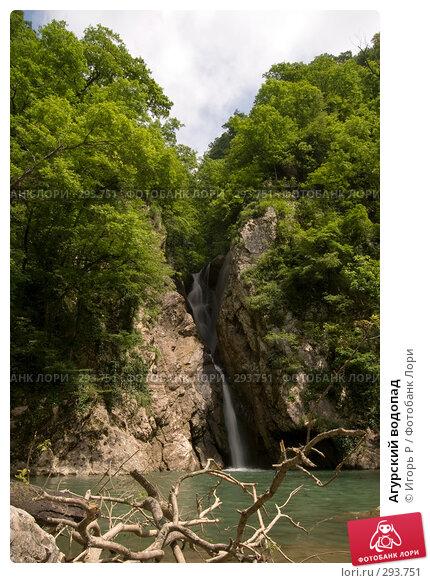 Агурский водопад, фото № 293751, снято 17 мая 2008 г. (c) Игорь Р / Фотобанк Лори