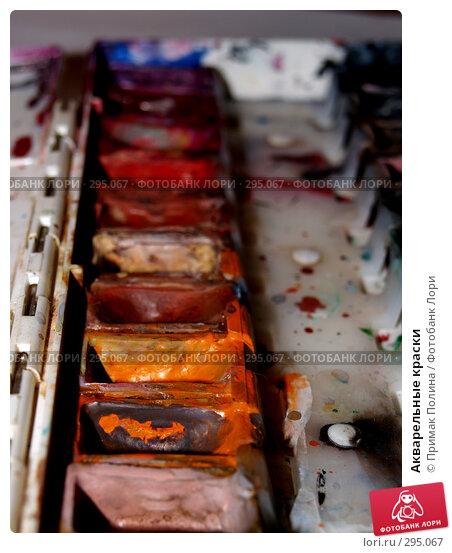 Акварельные краски, фото № 295067, снято 6 января 2007 г. (c) Примак Полина / Фотобанк Лори