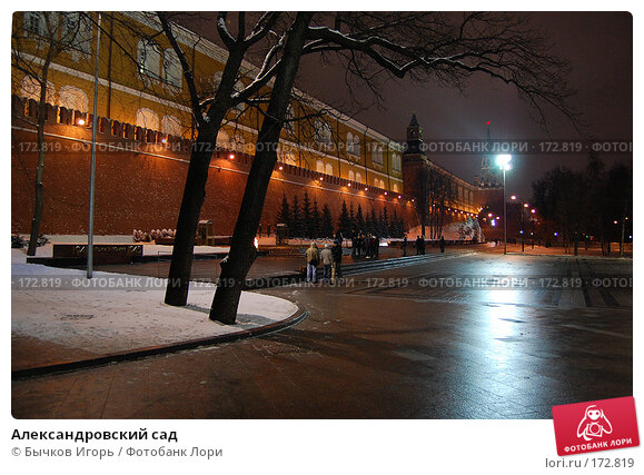 Александровский сад, фото № 172819, снято 13 декабря 2007 г. (c) Бычков Игорь / Фотобанк Лори