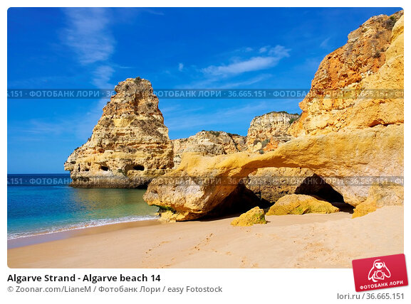 Algarve Strand - Algarve beach 14. Стоковое фото, фотограф Zoonar.com/LianeM / easy Fotostock / Фотобанк Лори