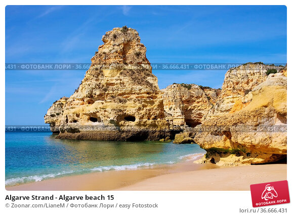 Algarve Strand - Algarve beach 15. Стоковое фото, фотограф Zoonar.com/LianeM / easy Fotostock / Фотобанк Лори