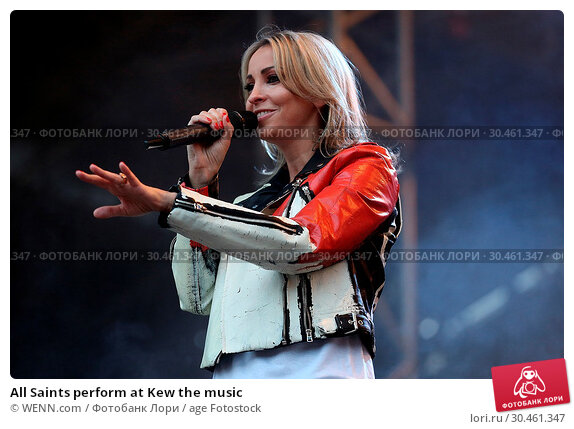 All Saints perform at Kew the music (2017 год). Редакционное фото, фотограф WENN.com / age Fotostock / Фотобанк Лори