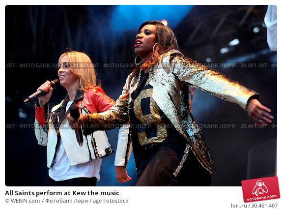 All Saints perform at Kew the music (2017 год). Редакционное фото, фотограф WENN.com / age Fotostock / Фотобанк Лори
