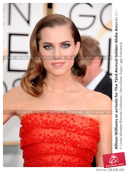 Купить «Allison Williams at arrivals for The 72nd Annual Golden Globe Awards 2015 _ Part 2, The Beverly Hilton Hotel, Beverly Hills, CA January 11, 2015. Photo By: Linda Wheeler/Everett Collection», фото № 28928263, снято 11 января 2015 г. (c) age Fotostock / Фотобанк Лори