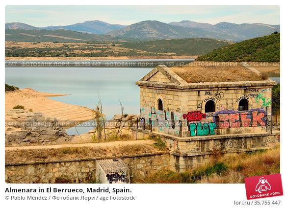 Almenara in El Berrueco, Madrid, Spain. Стоковое фото, фотограф Pablo Méndez / age Fotostock / Фотобанк Лори