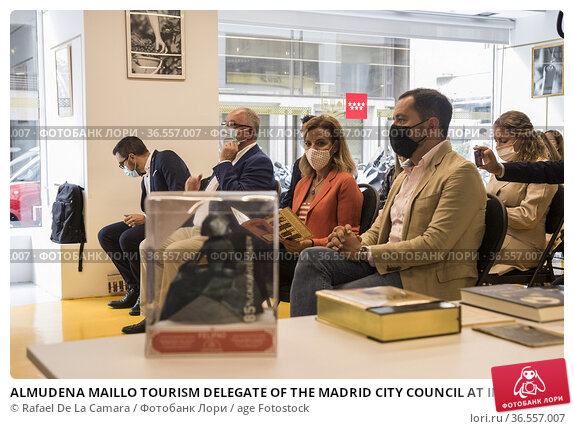 ALMUDENA MAILLO TOURISM DELEGATE OF THE MADRID CITY COUNCIL AT INTERNATIONAL... Редакционное фото, фотограф Rafael De La Camara / age Fotostock / Фотобанк Лори