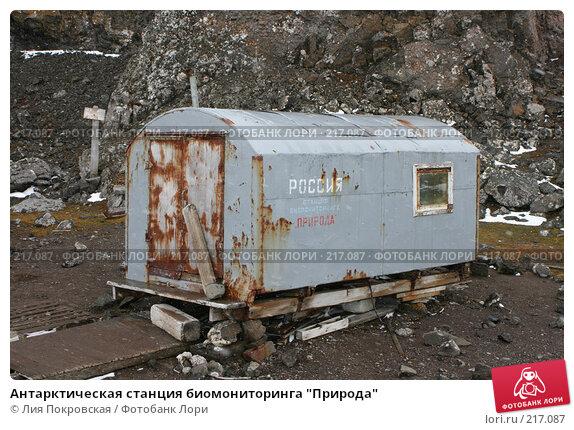 """Антарктическая станция биомониторинга """"Природа"""", фото № 217087, снято 15 января 2008 г. (c) Лия Покровская / Фотобанк Лори"""
