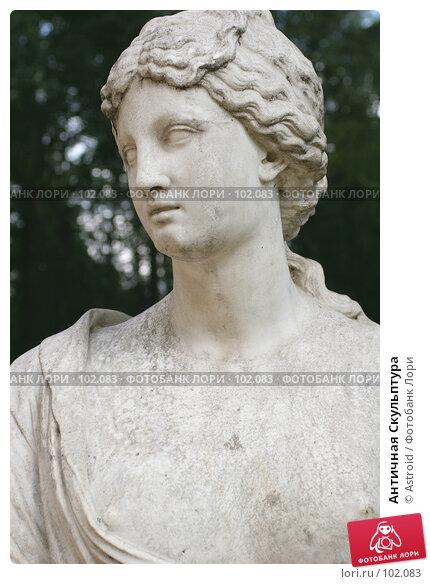 Античная Скульптура, фото № 102083, снято 19 августа 2017 г. (c) Astroid / Фотобанк Лори