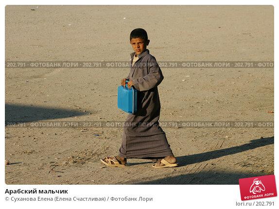 Арабский мальчик, фото № 202791, снято 25 января 2008 г. (c) Суханова Елена (Елена Счастливая) / Фотобанк Лори