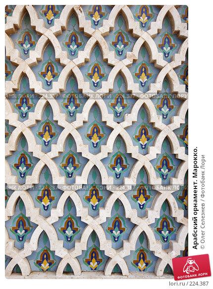 Купить «Арабский орнамент. Марокко.», фото № 224387, снято 24 февраля 2008 г. (c) Олег Селезнев / Фотобанк Лори