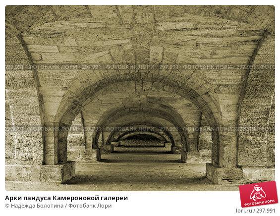 Арки пандуса Камероновой галереи, фото № 297991, снято 22 октября 2007 г. (c) Надежда Болотина / Фотобанк Лори