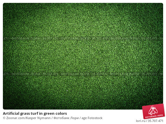 Artificial grass turf in green colors. Стоковое фото, фотограф Zoonar.com/Kasper Nymann / age Fotostock / Фотобанк Лори