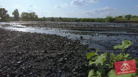 Ash and slag Thermal power plants. Стоковое видео, видеограф Потийко Сергей / Фотобанк Лори